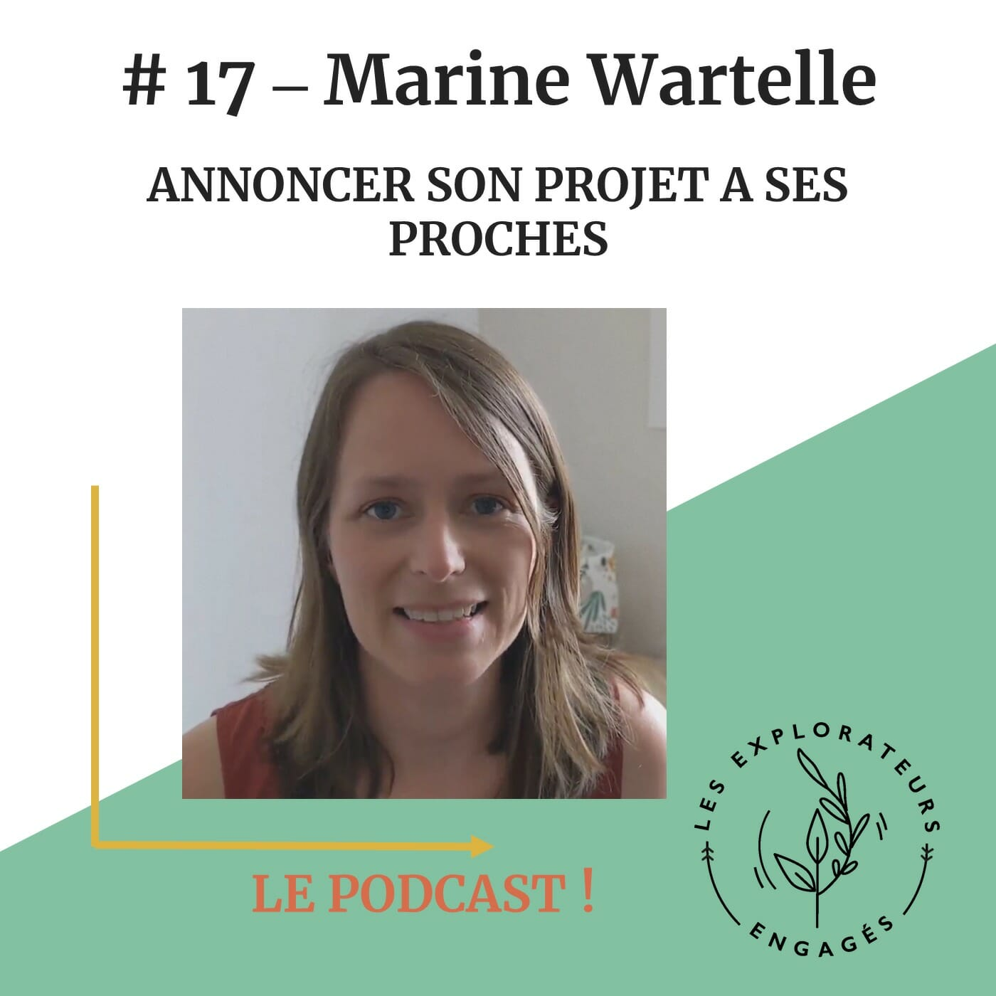 You are currently viewing #17 Marine Wartelle – Annoncer son projet à ses proches
